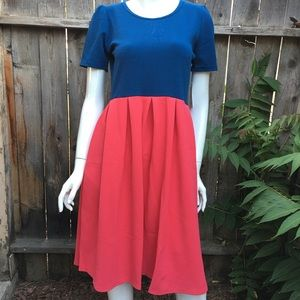 LuLaRoe Amelia Dress size
